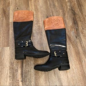 Vince Camuto Knee High Two Toned Boots